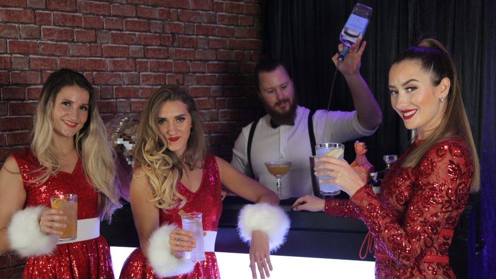 Virtual entertainment ideas full virtual Christmas party package available to book this festive season.