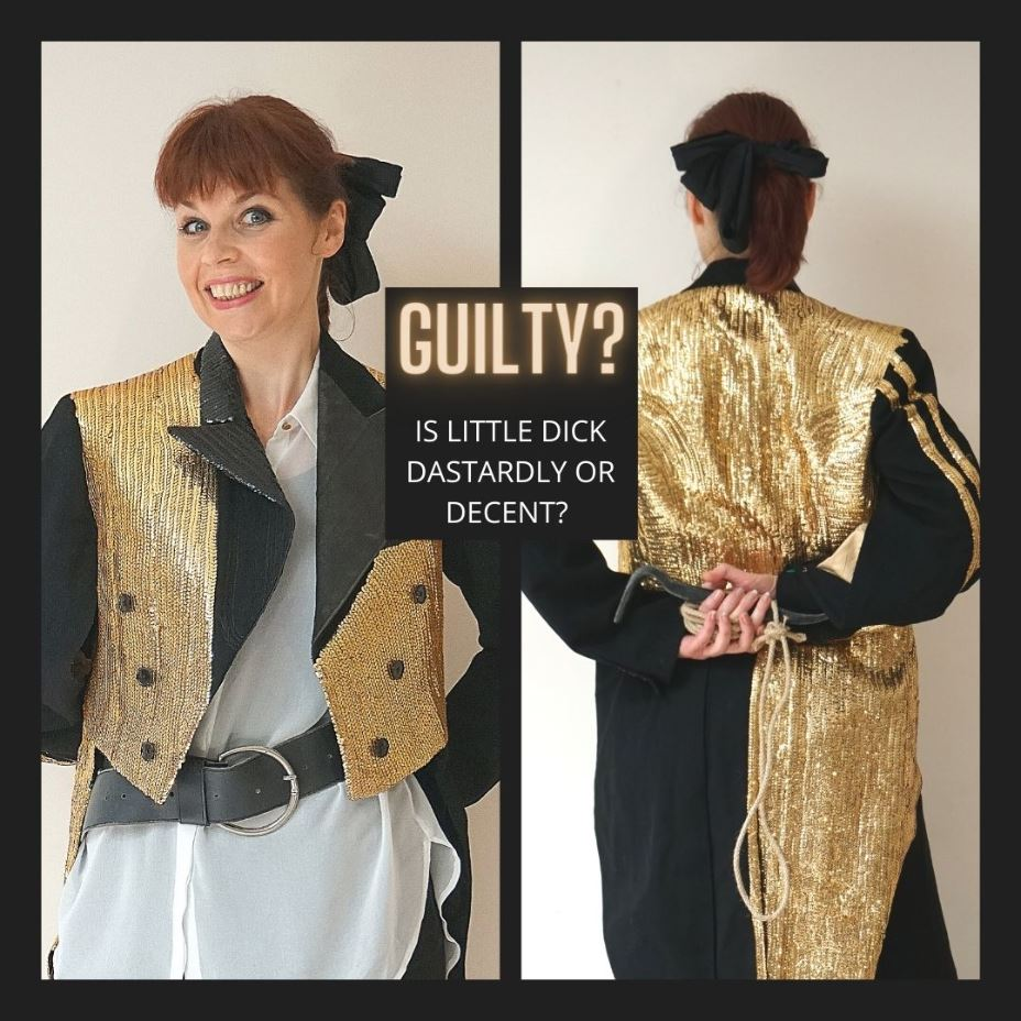 Virtual entertainment ideas pantomime themed murder mystery event for virtual Christmas parties.