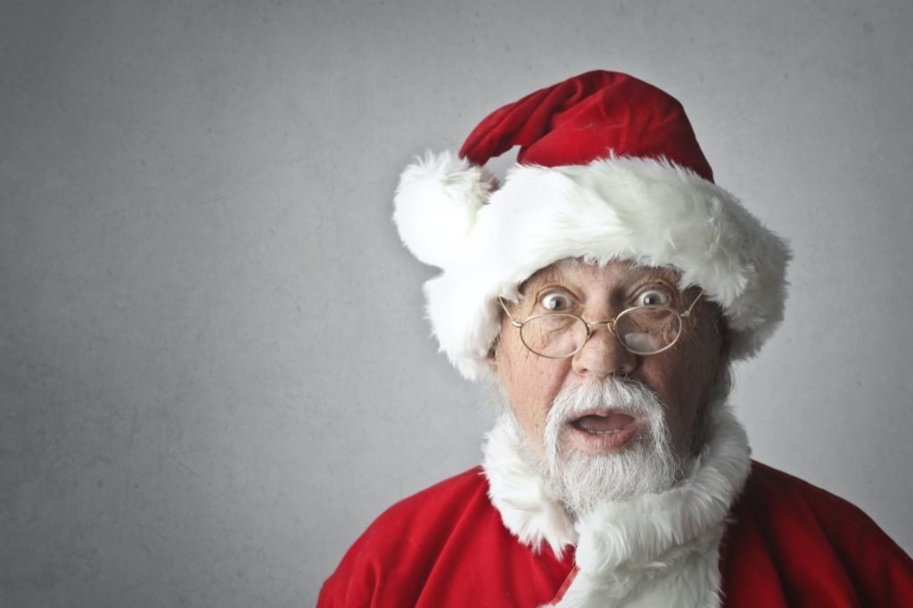 Virtual Santa Experience available to book for Christmas 2020. Great for Zoom Calls, Online Events, Virtual Events and more.