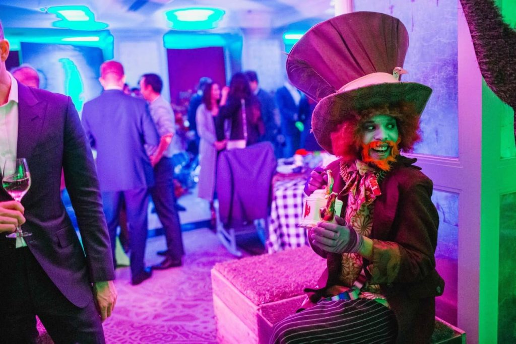 Corporate party live events taking place post covid